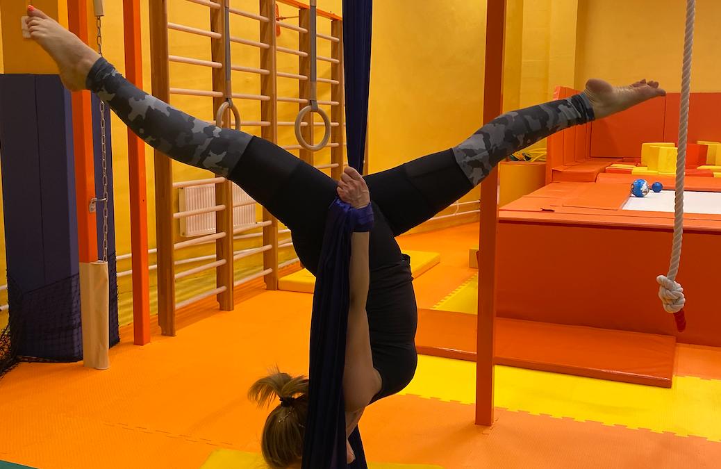 Новый тренер по цирковым полотнам, кольцу и растяжке