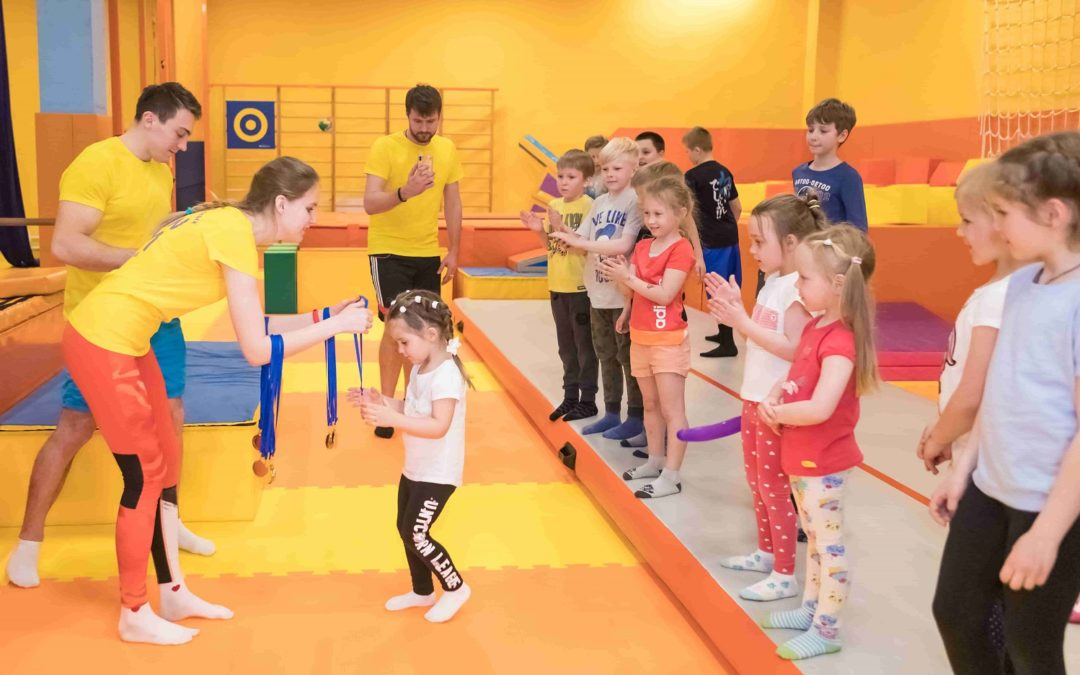 27 апреля состоялось праздничное мероприятие в честь первого отчётного урока учеников FunGym!